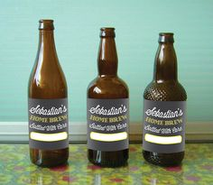 Custom Craft Beer Labels for Home Brewers by PepitaPress on Etsy
