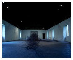David Dorminos 'Magnetism' installation looks like an invasive iron root growing plant  /sornmagazine.com