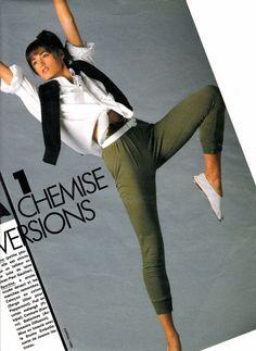 Yasmin Le Bon 1985 #supermodels #vintage #glamour #retro #nostalgia #1980s #1990s