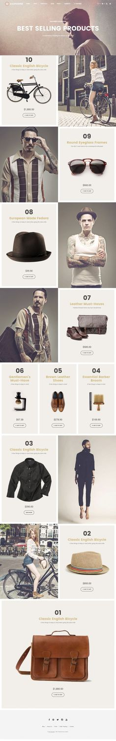 Shopkeeper by Getbowtied in Web design