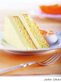 Orange and Cream Cake Recipe By Tish Boyle (Leite's Culinaria)