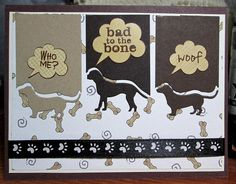 TLC501, Who me_vg by Vicky Gould - Cards and Paper Crafts at Splitcoaststampers