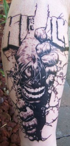 hulk tattoo - Google Search
