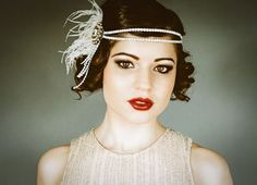 headpice flapper | Flapper Headpiece Vintage Inspired Bridal Hairpiece The by danani, $ ...