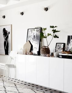 Lotta Agaton - wall mounted console...swoon