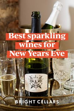Here are the 9 best sparkling wines for New Years! Celebrate the end of 2020 in style with these sparkling wines. Bright Cellars, Best Sparkling Wine, Wine Guide, New Years Eve, Wine Tasting, Wines, Sparkle, Bottle, Celebrities