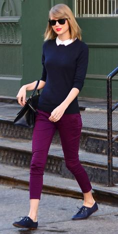 Taylor Swift in Keds