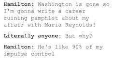 So accurate it hurts #Hamilton #musical
