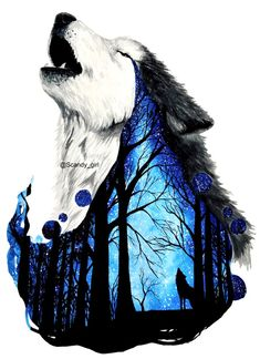 Draw Wolf Tattoo Werewolves Ideas for 2019 - Draw Wolf Tattoo Werewol . - Draw wolf tattoo w Flamingo Illustration, Art And Illustration, Illustrations, Wolf Artwork, Anime Artwork, Wolf Tattoos, Celtic Tattoos, Animal Tattoos, Design Loup