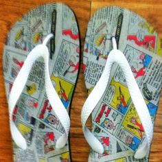 That's awesome! Bazooka Bubble Gum, Fun Gifts, Flip Flops, Bubbles, Club, Comics, Awesome, Clothes, Shoes