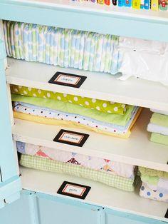 Baby room storage