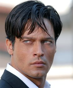 Men's Fashion, Men's Style, Italian Style, Men's Hairstyle  Gabriel Garko, Italian TV Actor (L'Onore e il Rispetto)