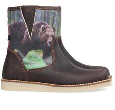 Wild kinderschoenen 8967 brown bear koop je online bij MooieSchoenen.nl