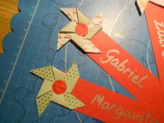Bookmarks, pinwheels
