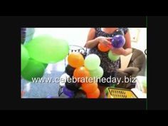 "This video will show you how to make a spiral balloon column using 5"" latex balloons. Order DIY Balloon Kits at www.celebratetheday.biz"