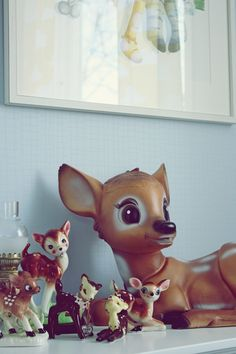 Vintage Deer Collection.