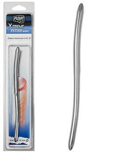 Push Xtreme Fetish - 20cm Edelstahl Dilator Advanced 9mm & 10mm breit