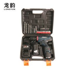 50.8$  Buy here - 16.8V Rechargeable Lithium Battery*2 Cordless home 12V Electric Drill bit wall tile Electric Screwdriver Tool box Plastic case   #aliexpress