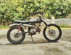 Dirt bike honda s90z