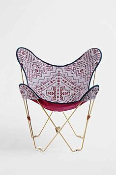 4040 Locust Kody Butterfly Chair Cover - Urban Outfitters  $29.99 maybe a bit too young... but its fun