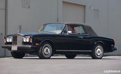 1981 Rolls-Royce Corniche Cabriolet