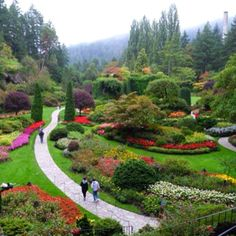 My Mom and Dad loved this place.  Butchart Gardens, Victoria, B.C. Canada