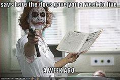 Joker as Nurse
