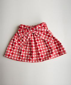Another great find on #zulily! Red Polka Dot Skirt - Infant & Toddler #zulilyfinds
