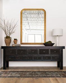 Home Interior, Interior And Exterior, Interior Design, Home Design, Web Design, Black Sideboard, Sideboard Buffet, Interior Minimalista, Amber Interiors