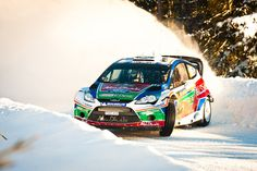Taking the corners in snow. #RallyRacing #Speed #Power #Action #Racing