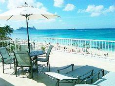 Ultimate Beachfront Oceanfront Penthouse Condo Unbeatable Views! 7 Mile Beach!