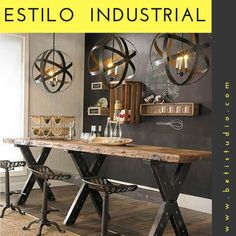 Office Desk, Furniture, Home Decor, Industrial Style, Industrial Design, Iron Table, Mesas, Wood, Desk Office