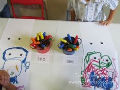 """After reading """"My Five Senses"""" by Aliki and talking with the children about their five senses, I explained to the children how all that this..."""