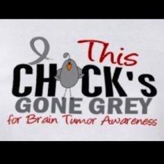 I am both grey and a brain tumor survivor