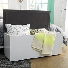 catch-all storage bench in view all furniture | CB2