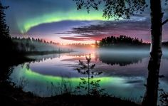 Visit Finland @OurFinland  The best season for northern lights is on