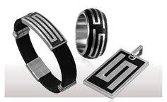 Männerschmuck Modeschmuck Herrenschmuck Design, Fashion, Man Jewelry, Stud Earring, Fashion Jewelry, Stars, Stainless Steel, Silver, Moda