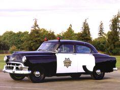 Chevrolet Special 150 4-door Sedan Police (1503-1269) '1953