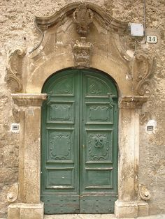 Old Street door Scanno Abruzzo Italy by Panoraman, via Flickr
