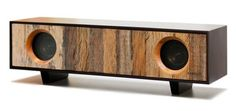 Great looking desktop hi-fi made from reclaimed wood.