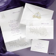 DISNEY wedding invitations!?! how did i not know that this existed?!