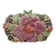 Fawziya Rhinestone Rose Clutch Purses And Handbags For Womens Bags ** Check this awesome image