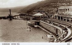 The Story of the South Bay Pool – Stories From Scarborough Scarborough England, Butlins Holidays, Northern England, North Yorkshire, Outdoor Pool, Old Pictures, East Coast, Paris Skyline, Cinema