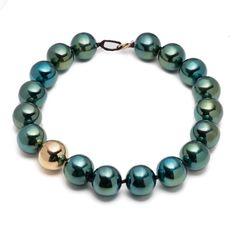 Liquid_Metal Sphere Necklace  1