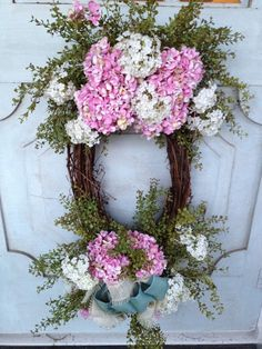 spring wreaths ideas   spring wreath
