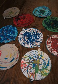 Spin art paintings 2.16