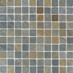 China Multicolor Mosaic - Tumbled Slate Collection by American Olean