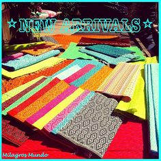 FUNKY & FAIR Oh joy! Colorful plastic carpets for an eclectic lifestyle handcrafted in Senegal.
