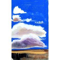А по пути к морю сейчас такое небо. Здорово... #art #interiorart #sky #pastel #oilpastel #sketch #drawing #painting #landscape