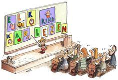 Elk kind kan vlot leren lezen - De Standaard